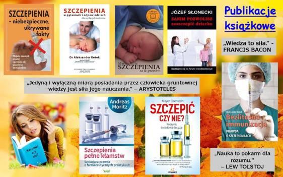 książki o szczepieniach
